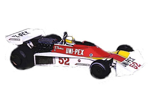 Tameo SLK124 Tyrrell 007 Ford - 1976 - White Metal Car Kit - Scale 1:43, Made in Italy