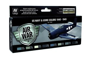 Vallejo 71157 USN Aircraft Colors