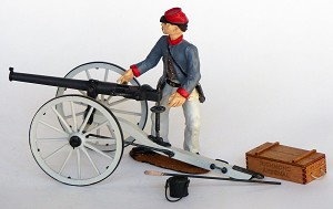 Guns of History Breech Loading Williams Gun 1862 1:16 Scale Wood & Metal Kit