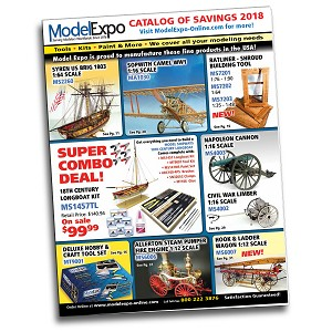 Model Expo Catalog - Download it for Free from our website or receive in mail for $2.99.