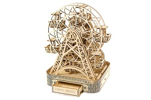 Wooden City Ferris Wheel Laser Cut Wood 429 Parts