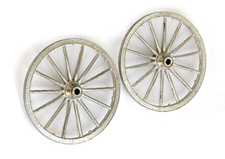 Guns of History CANNON METAL WHEEL SET (2) 1:16 SCALE