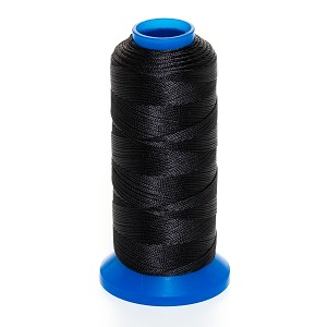 "Griffin Rigging Line @.008"" x 656yds (@.2mm x 600m) Black Bead Cord Jewelry Nylon Spool"
