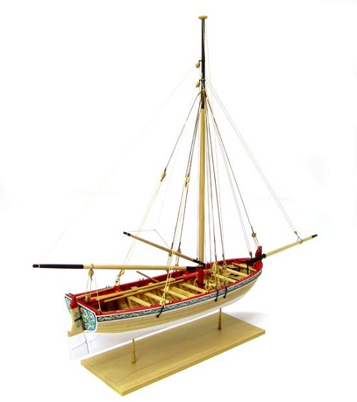 Model Shipways 18th Century Longboat Wooden Model Ship Kit & Tools 1:48 Scale - MS1457CBT
