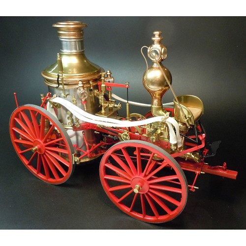 MODEL TRAILWAYS ALLERTON STEAM PUMPER FIRE ENGINE 1:12 SCALE