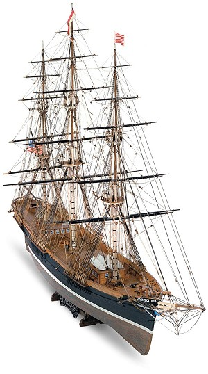 Mamoli MV41 Flying Cloud Model Ship Kit - American Clipper Ship 1851 - Scale 1/96 - Length 37 in - Height 24 in