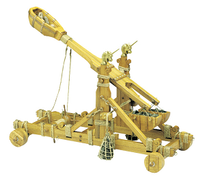 Mantua Model 813 Norman Catapult 1:12 Scale