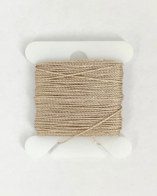 "Model Shipways Rigging Line @.016"" x 10yds (@.4mm x 9.14m ) Beige Bead Cord Jewelry Nylon"