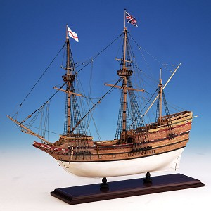 Model Shipways MAYFLOWER, 1620, 5/32 SCALE (1:76)