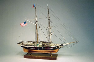 "Model Shipways KATE CORY - WHALING BRIG 3/16"" = 1' SCALE (1:64)"