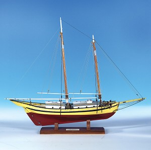 Model Expo GLAD TIDINGS PINKY SCHOONER 1:24 SCALE