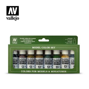 Vallejo Model Color Panzer Colors 8 Bottles