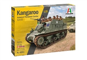 Italeri 6551s Kangaroo Armored Personnel Carrier  1/35 Scale