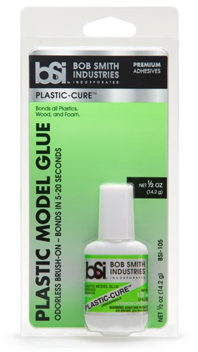 Plastic-Cure™ 1/2 oz Odorless Brush-On
