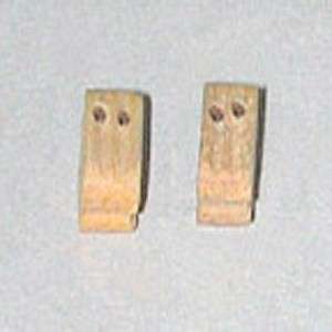 "BLOCK, Double, Boxwood 1/4"" (7mm) 30/pack"