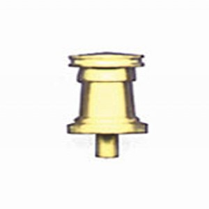CAPSTAN,  Brass 8mm PATENT (EARLY) STYLE 2/pack