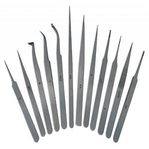 Sona 12-Pc. Tweezers Set