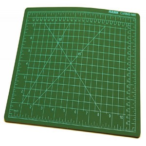 "Hawk Self-Healing Green Cutting Mat 18"" x 12"""