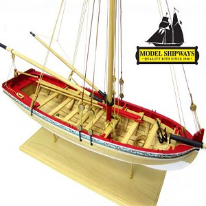 Model Shipways MS1457 18th Century Longboat Model Ship Kit 1:48 Scale