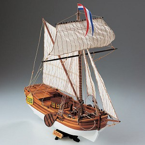 COREL LEIDA, DUTCH YACHT 1:64 SCALE