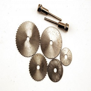 Model Expo 5-Pc. High Speed Mini-Saw Blade Set (Mandrels Not Included)