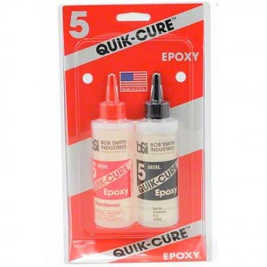 Model Expo QUIK-CURE 4.5 OZ EPOXY