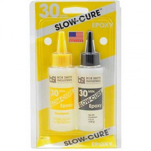 Model Expo SLOW-CURE 30-MINUTE EPOXY, 4.5 OZ
