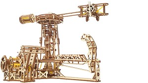 Ugears - Aviator- Laser Cut Wood - 726 Parts