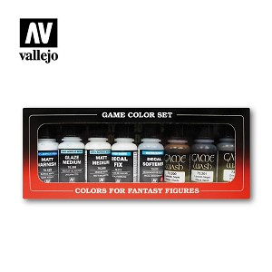 Vallejo Auxiliary Set 8 Bottles
