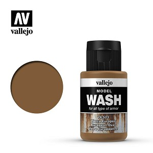Vallejo Model Wash European Dust 1.18 oz