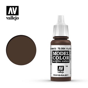 Vallejo 70984 Flat Brown